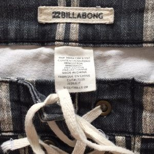Billabong Shorts - Billabong striped summer shorts